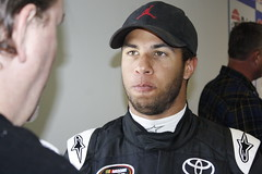 Darrell Wallace Jr. Chats With Media