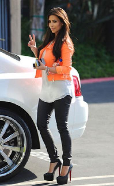 Kim Kardashian - BlackBerry Porsche P'9981