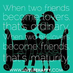 When two friends become lovers, that's ordinar...