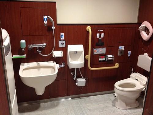 Multifunction toilet