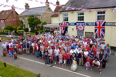 """Diamond Jubilee street party • <a style=""""font-size:0.8em;"""" href=""""http://www.flickr.com/photos/80046288@N08/7346042360/"""" target=""""_blank"""">View on Flickr</a>"""