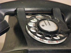 REMEMBERING THE OLD ROTARY DIAL PHONE
