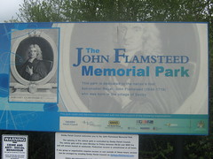The John Flamsteed Memorial Park, Denby, Derbyshire