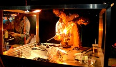 Glass Blower in Action