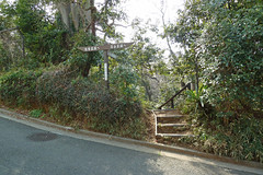 獅子ヶ谷市民の森(新池通り入口)(Shin-ike Ave. Entrance, Shishigaya Community Woods)