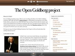 Open Goldberg Variations on iPad