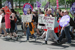 Pro-abortion march