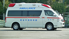 救急車(新宮市消防本部)(Ambulance car of Shingu city, Wakayama, Japan)