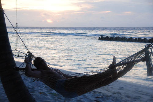 relax hammock maledives kuredu