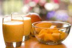 Sweet Mango Lassi - Mango Smoothie