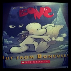 #bookaday Bone: Out From Boneville by Jeff Smith