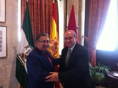 El ministro del Interior, Jorge Fernández Díaz...