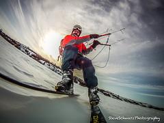 Kite Skiing - Soft Snow