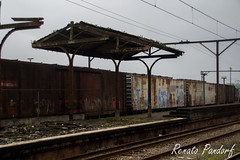 Remains of a station