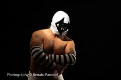 Masked fighter