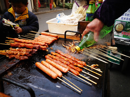 warm food, cold air by akoposimark, on Flickr