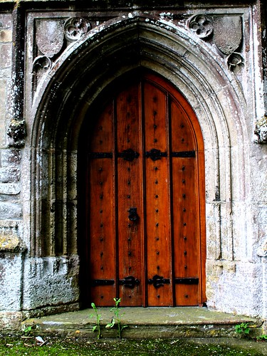 Church Door Brent Knoll Church Somerset by Leshaines123, on Flickr