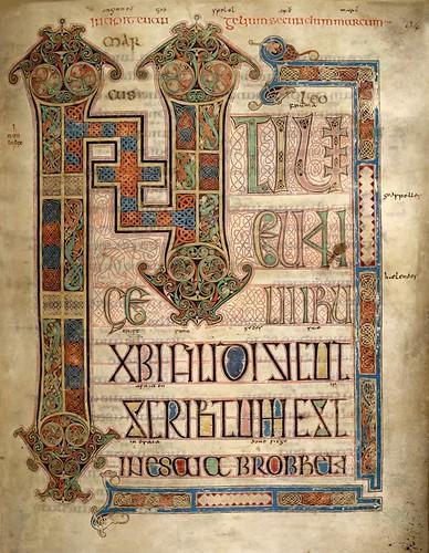 Lindisfarne Gospels -- Mark