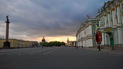 Закатное... #закат #СПб #дворцоваяплощадь #эрмитаж #иссакий