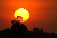 Sunset @ Kabini