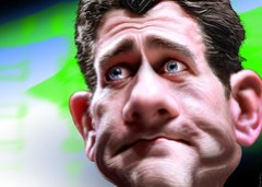 Paul Ryan Caricature