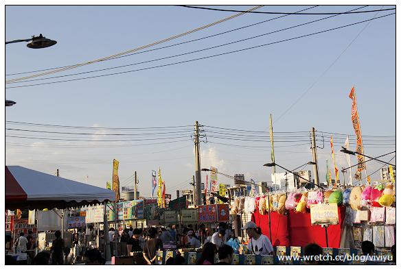 [台南.旅遊]全台最大.花園夜市~吃喝玩樂通通有 @VIVIYU小世界