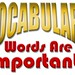 Vocabulary - Words Are Important