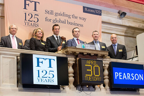 FT ringing the Closing Bell at the NYSE