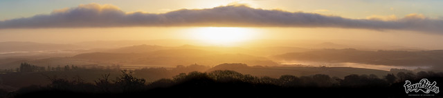 Sunrise over East Devon