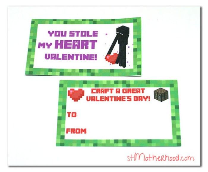 minecraft valentine