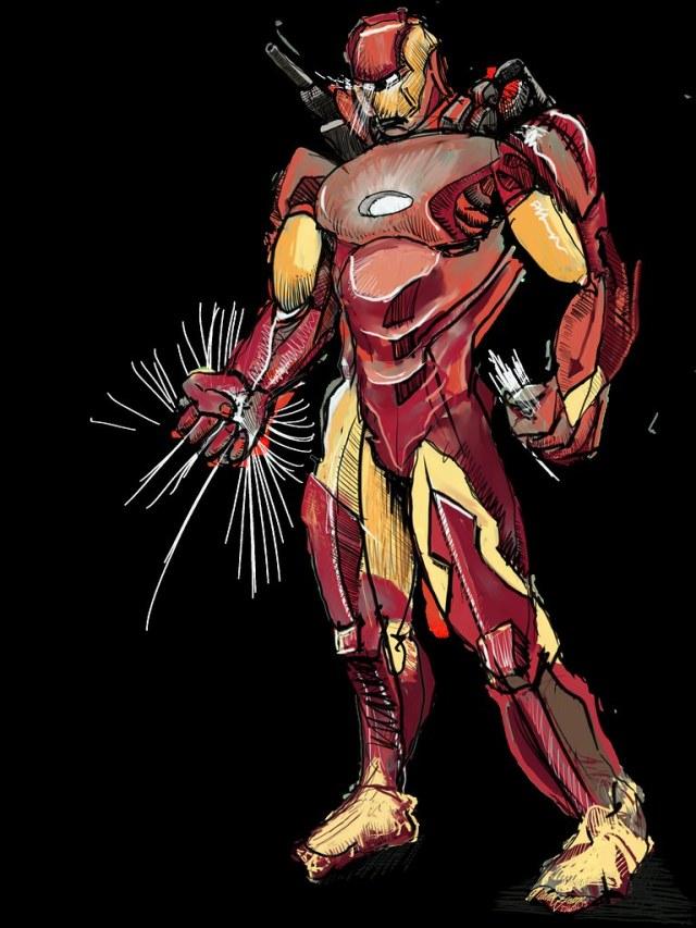 Iron Man Study_001