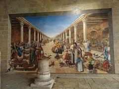 Mural of the Cardo