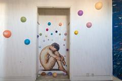 Tour Paris 13: artwork by James Cochran (aka Jimmy C) (apartment #983)