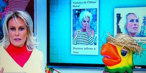 """Ana Maria Braga denuncia golpe sobre sua falsa morte: """"É um horror"""""""
