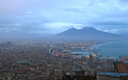 Mount Vesuvius, Napels
