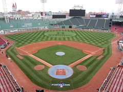 Fenway Park (five hours prior to 2013 ALCS Game 1)