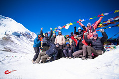 Group Photo on Thorung La