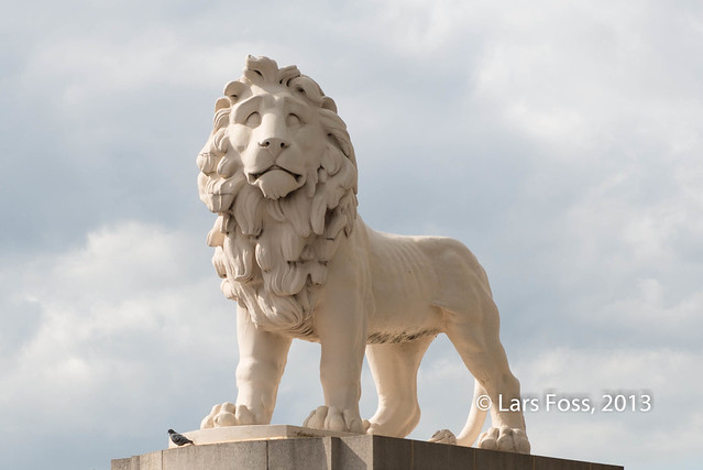Lion at the Westminster Bridge