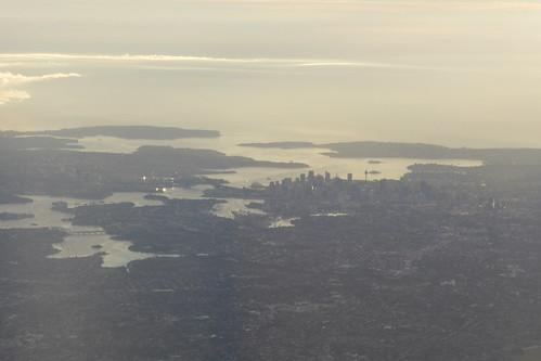 Sydney Zentrum von oben