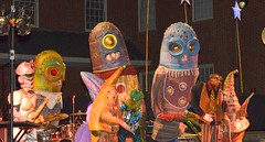 Big Nazo Creature Band on the Steeple Street Stage