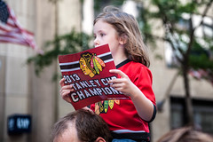 Blackhawks Stanley Cup Champions Parade
