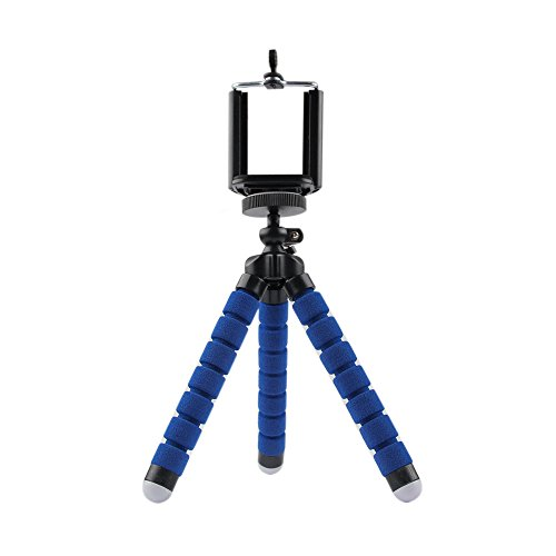 camera blue apple mobile digital nokia stand google portable phone sony tripod bracket cellphone samsung style mini clip mount note smartphone galaxy octopus optimus tribute universal mate nexus compact holder lenovo iphone flexible adjustable huawei lumia 765 xperia minis4 geekercity® g3g2 10206355209301520 432edge 72p7p6honor g610ascend l70l90g plus655s5c44s s6s5s4s3s5 s898ta850 z3z2z1z1