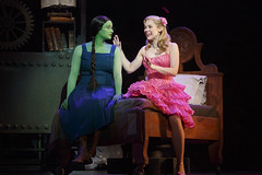 Emma Hunton and Gina Beck in the Broadway Sacramento presentation of WICKED at the Sacramento Community Center Theater May 28 - June 15, 2014. Photo by Joan Marcus.