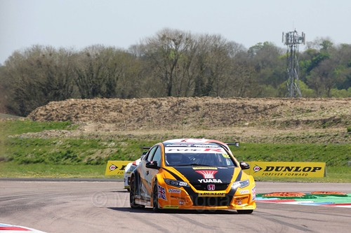 Gordon Shedden during the BTCC Weekend at Thruxton, May 2016
