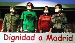 """#22M Empezando por la izda. Miren Etxezarreta, Ada Colau, Mari, de El Coronil y Nines Maestro, en la presentación de las Marchas en el Ateneo, Madrid • <a style=""""font-size:0.8em;"""" href=""""http://www.flickr.com/photos/118665019@N03/13019214094/"""" target=""""_blank"""">View on Flickr</a>"""