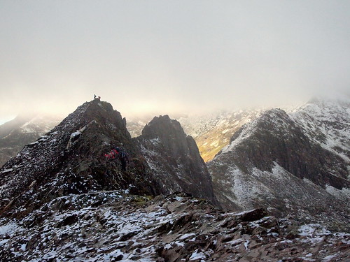 Pinnacles of Crib Goch