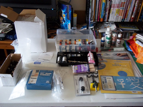 airbrush paint kit with compressor