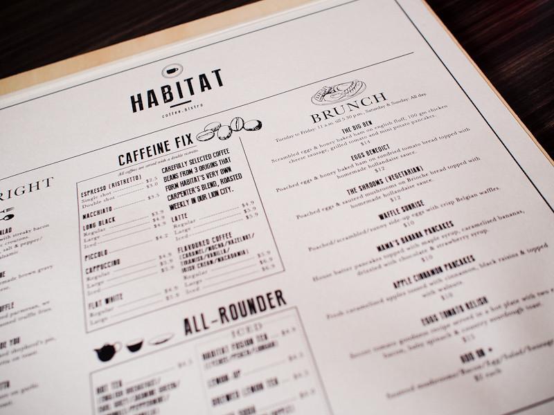 Habitat Coffee Bistro