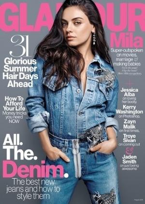 """Mila Kunis diz que """"não gostava"""" de Ashton Kutcher: """"Ele se achava"""""""