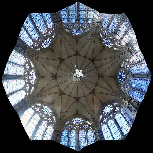 """Chapter House ceiling • <a style=""""font-size:0.8em;"""" href=""""http://www.flickr.com/photos/96019796@N00/16240448717/"""" target=""""_blank"""">View on Flickr</a>"""